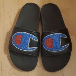 Champion Glitter Slide Sandals